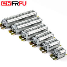 UK2.5B Inggris Seri DIN Rail Screw Clamp Blok Terminal Strip Selesai Penyambungan Terminal(China)
