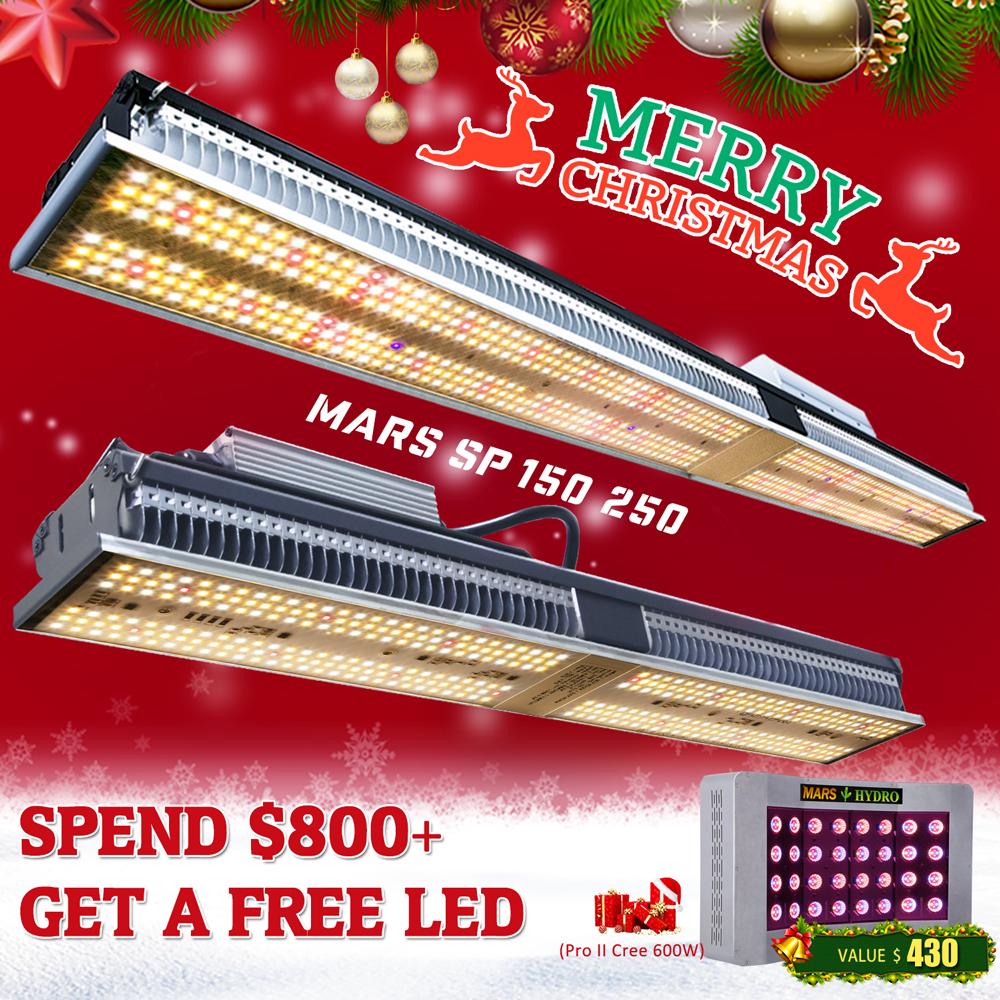 Newest Mars Hydro SP 150 250 LED Grow Light Full Spectrum Indoor Plant Veg Flower Lamp Meanwell Driver Zero Noise WaterProof