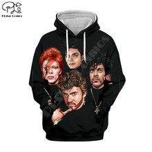 PLstar Cosmos Michael Jackson/Macaulay Culkin 3D Printed Hoodie/Sweatshirt/Jacket/shirts Mens Womens hip hop Spacewalk style-1