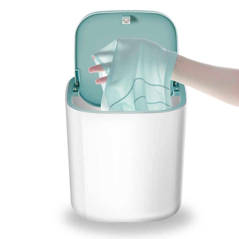 Mini Automatic Washing Machine USB Charging Household Dehydrated Mini Tube 3-5Kg Wash Dry Underwear Care Cleaner