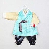 South Korea Imported Fabrics Boy Birthday Korean Clothes/children's New Korean Clothes Outfit Sets Fashion