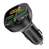 USB Car Charger For Phone Bluetooth Wireless FM Transmitter MP3 Player Dual USB Charger TF Card Music HandFree Car Kit