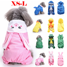 Pet Dog Rainwear Raincoat Clothes Rain Accessorie for Coats Waterproof Coat