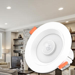 Round LED Spot-Light Infrared-Sensor-Downlight Indoor Ce Human-Body-Induction 15w/20w