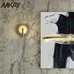 Home Art Indoor fantazyjne matowe szkło miedź lampka nocna do czytania nocne oświetlenie ścienne do korytarza światło na korytarz oprawy