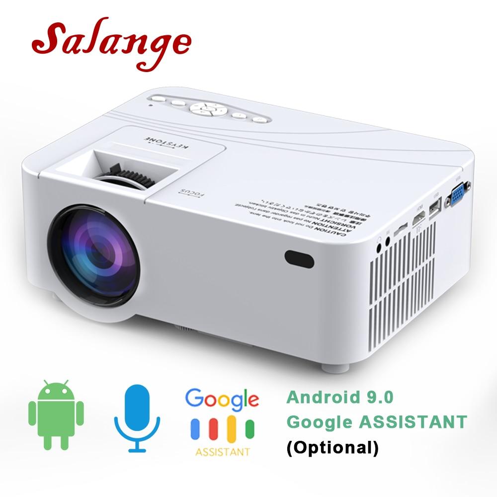 Salange P36 мини проектор для Android Wifi HD портативный проектор Led для домашнего кинотеатра проектор видео с WiFi AV HDMI USB| |   | АлиЭкспресс