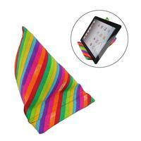 Мягкая подушка для ноутбука подушка для планшета треугольная выпуклая Пирамидка Радуга стойка для Ipad планшеты электронные ридеры смартфон...
