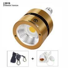 Светодиодный светильник для выращивания 120 Вт 150 Вт полный спектр COB светодиодный светильник для выращивания растений 110 В 220 В для комнатных растения парниковые овощи цветение
