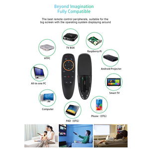 Image 4 - KEBIDU G10S Gyro détection mouche Air souris avec commande vocale 2.4GHz sans fil Microphone télécommande pour Smart TV, Android Box PC