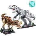 Creator Tier Serie Bausteine Jurassic Dinosaurier Tier Welt Park Tyrannosaurus Rex Ziegel Spielzeug Geschenk Für Kinder