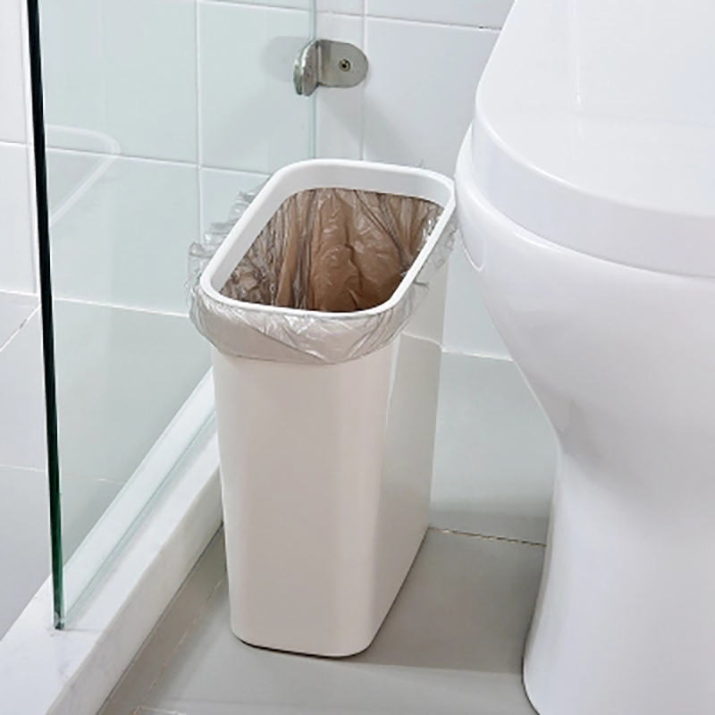 Coverless Narrow Bathroom Trash Can Waste Bin Kitchen Trash Bin Plastic Storage Box Dustbin Garbage Organizer Container Cans Waste Bins Aliexpress