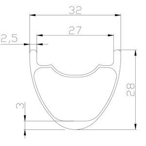 Image 2 - 1260g 29er MTB XC DT180 koła doładowania 32mm bezdętkowe 28mm profil 27mm prosto ciągnąć łożyska ceramiczne mikro spline 12s CL koła