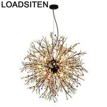 Moderne Design Led Light Crystal Hang Lampen Modern Deco Maison Lustre E Pendente Para Sala De Jantar Luminaria Hanging Lamp