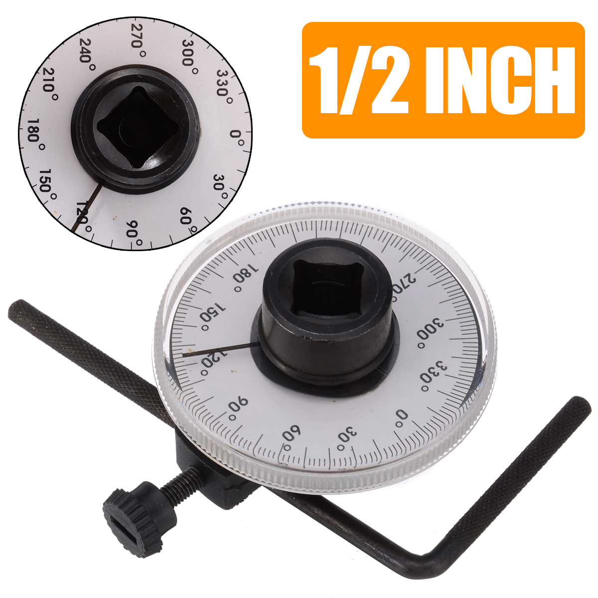 1/2inch Drive Torque Angle Gauge Auto Test Torque Wrench Meter Adjustable For Hand Tools Set Wrench