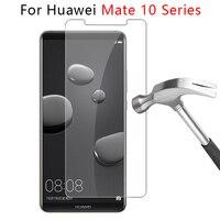 Protector de pantalla de cristal templado para Huawei Mate 10 Lite, película protectora de cristal Mate 10 Pro, Mate 10 lite