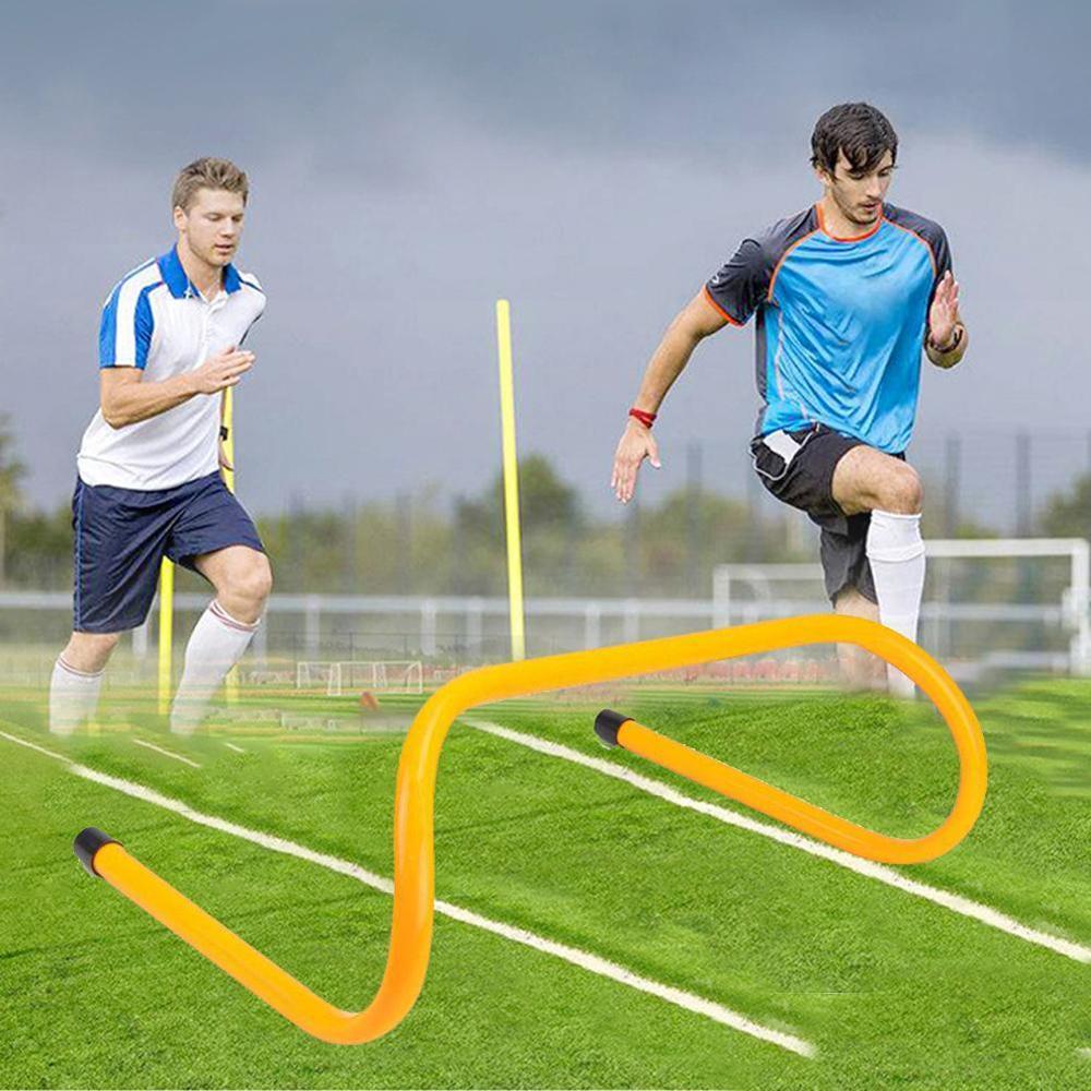 Hurdle Foldable Removable Football Hurdles Training Agile Jump Bar Football Hurdles Height Barrier Training Sport Equipment  10-