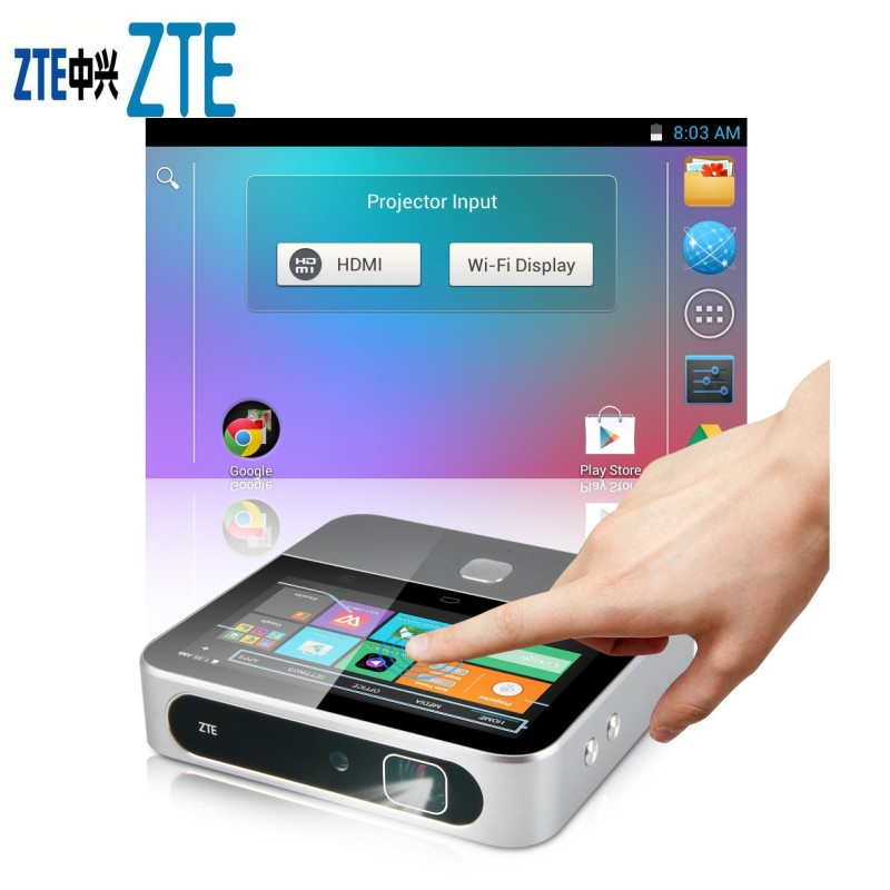 ZTE Spro 2 Wireless Smart DLP Projector Silver