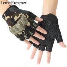 Мужские тактические перчатки longkeeper военные камуфляжные