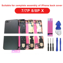 It is suitable for assembling the complete shell of Iphone 7G, 7Plus, 8G and 8Plus X, namely the rear middle frame shell.
