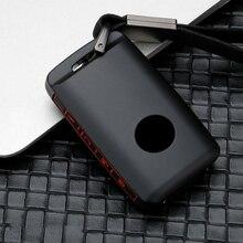 Цинковый сплав+ силиконовый чехол для автомобильного ключа для Mazda 3 Alexa CX4 CX5 CX8 3 кнопки 4 кнопки аксессуары для стайлинга автомобилей