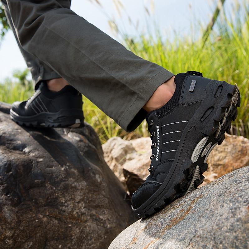 Зимняя мужская популярная Повседневная обувь; Черная классическая теплая обувь для альпинизма;мужские кросовки макасины мужские ; женская ...