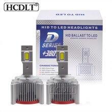 HCDLT Car Headlight D3S LED Bulbs D1S D3S Auto Headlamp Lights 70W 17200LM Auto Headlamp Kit to Replace HID Conversion Ballast