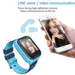 Image 2 - 어린이 스마트 시계 어린이 4g wifi gps 트래커 어린이 시계 전화 디지털 sos 알람 시계 카메라 전화 시계 어린이 pk q90