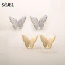 Mignon mode petit mat papillon boucles d'oreilles femmes minuscule Animal boucles d'oreilles anniversaire adolescents bijoux cadeaux boucle d'oreille