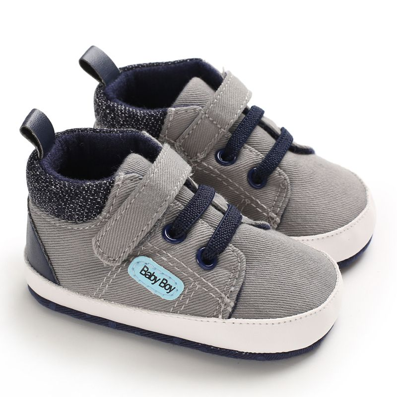 Male Baby Soft Sole Of Shoes First Walkers Baby Shoes Newborns Toddler Crib Sneakers Skid-Proof Shoes
