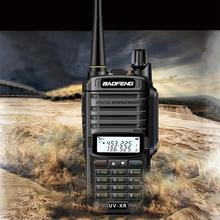 Baofeng UV XR 10W Poderoso conjunto de Walkie Talkie CB rádio portátil Handheld uv 9r 10KM de Longo Alcance Rádio Em Dois Sentidos uv9r mais