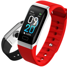 HUACP R7 Smart Watch Waterproof IP68 Heart Rate Blood Pressure Health Fitness Tracker Wrist Bracelet Battery Sleep Shake Remote
