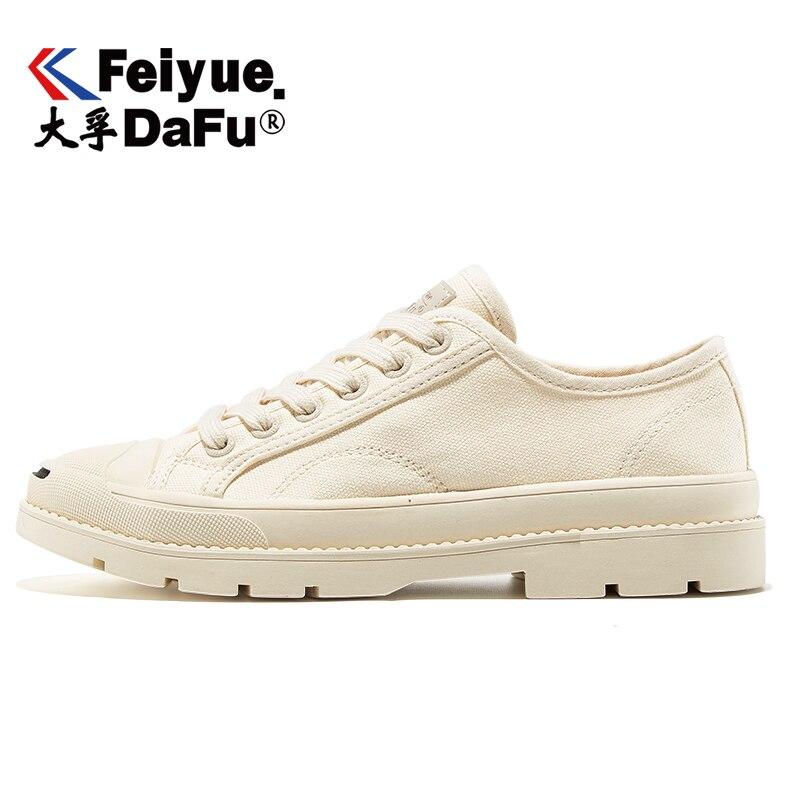 DafuFeiyue Casual Sneakers 8366 Canvas Shoes Women Flats Trend Fashion Vulcanized Shoes Elastic Insole Comfortable Leisure Flats