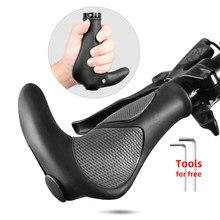 Empuñaduras de manillar de silicona para bicicleta, TPR integrado mango de goma, reposapiés de mano de ciclista de montaña, BMX