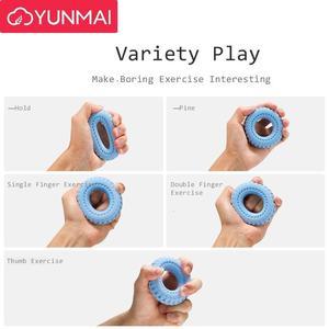 Image 2 - Youpin yunmai garra reforçadora de mão mijia, garra para treinamento de dedo, anel de silicone, descompressão 40lb para homens e mulheres