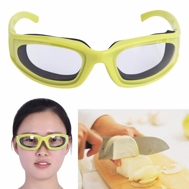 1 Pc Onion Kitchen Accessories Goggles Barbecue Safety Glasses Eyes Protection Visors Green Color Cooking Tools kitchen tools 1