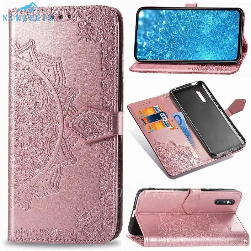 <font><b>Flip</b></font> Leather Case for <font><b>OPPO</b></font> Realme C3 C2 Realme 6i Q <font><b>X</b></font> Shockproof Wallet <font><b>Cover</b></font> for Realme X50 Pro 5G Realme 5 5i 5s 3 <font><b>Find</b></font> X2 Pro image
