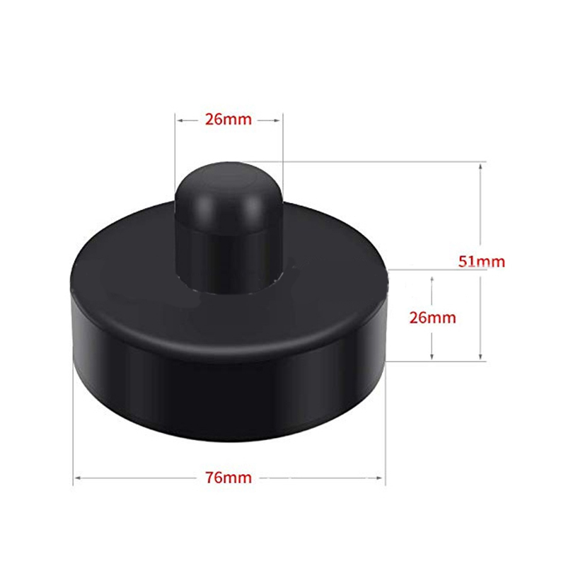 Mayitr 4pcs/set Rubber Jack Pad Lift Point Adapter For Tesla Model 3 S X Tool Accessories