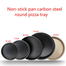 Kitchen Gadgets Non-Stick Pizza Pan Bakeware Carbon Steel Pizza Plate Round Deep Dish Pizza Mould Tray Mold Kitchen Baking Tools