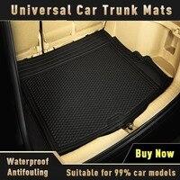 Universal Car Trunk Mats for lexus nx300 infiniti qx30 2019 Suzuki wagon r Car Accessories Cargo Liner Boot Carpet Trunk Mat