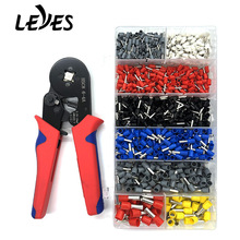 Professional Electrical Crimper Plier Tools Sets HCS8 6-4A Multitool Crimping Pliers Terminals for 0.25-10mm2 Hand Repair Tools