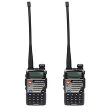 лучшая цена 2 Pcs BAOFENG UV-5RE Dual Band UHF/VHF Amateur Handheld Two Way Radio FM Ham walkie Talkie 128 Channels