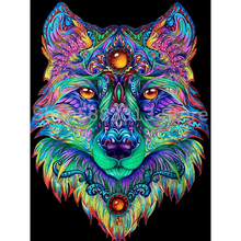 5D DIY Diamond Painting Wolf Mosaic Diamond embroidery Animals Full Drill Pictures Of Rhinestones Decor Home azqsd diamond painting santa rhinestones pictures christmas diamond mosaic full display embroidery with crystals home decoration