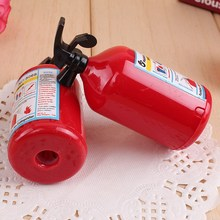 Pencil Sharpener Cute Fire Extinguisher Shape Student Stationery for Kids Prizes Gifts Creative Papeleria  1 Pc