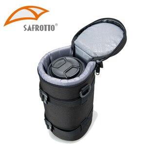 Image 2 - Bolso de cámara de alta calidad, funda de lente Kamera, resistente al agua, a prueba de golpes para Canon, Nikon, Sony, Protector de lente, cinturón para fotografía