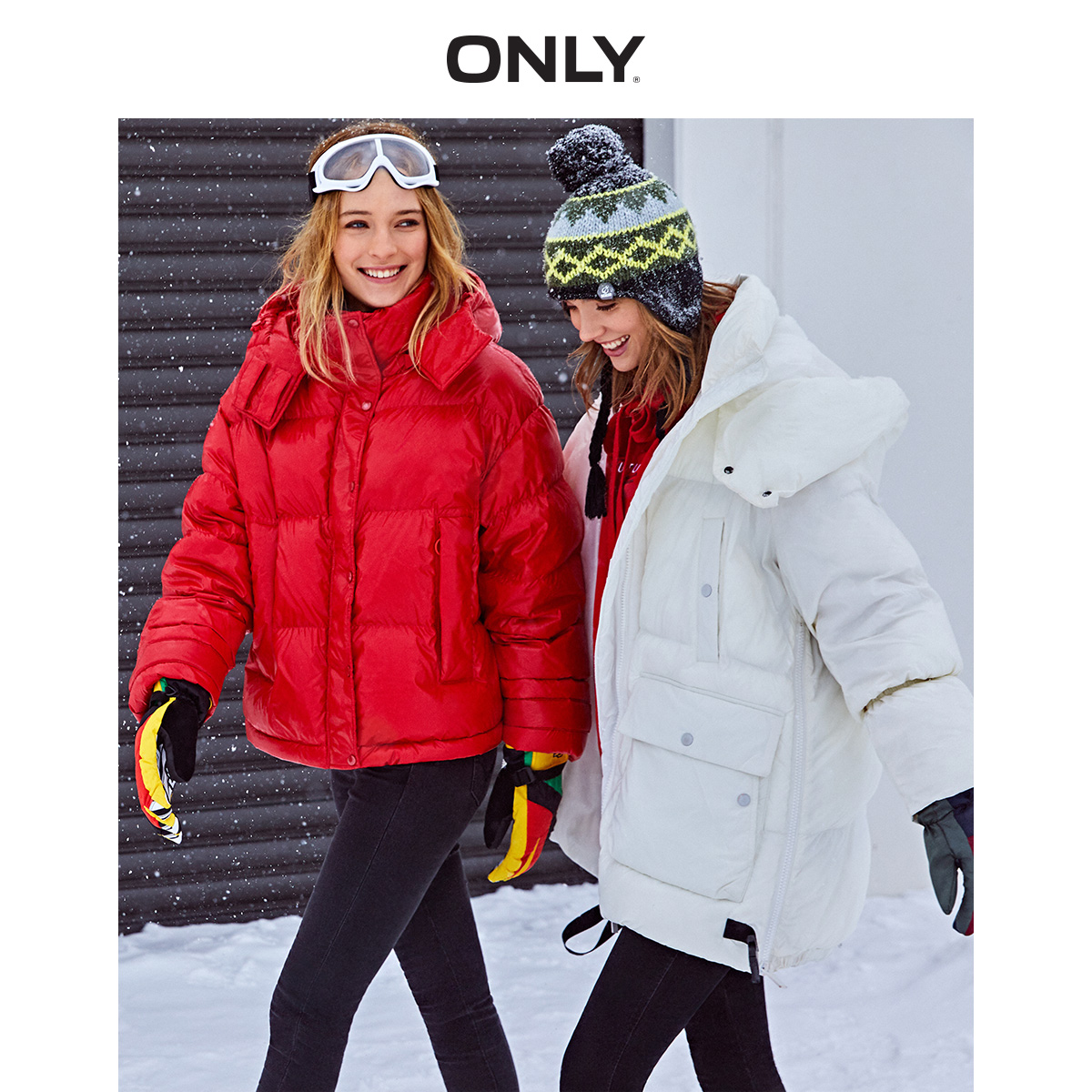 ONLY Women's Loose Fit Down Jacket | 119323515