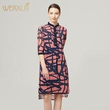 Шелковые платья женские натуральные 2020 весна лето розовый