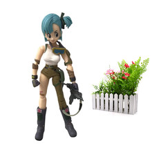 Anime Dragon ball Z SHF Figuarts Bulma PVC Action Figure Model DIY Toy(China)