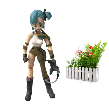 Anime Dragon ball Z SHF Figuarts Bulma PVC Action Figure Model DIY Toy injustice gods among us the joker suicide squad shf s h figuarts the dark knight joker cartoon pvc action figure toy
