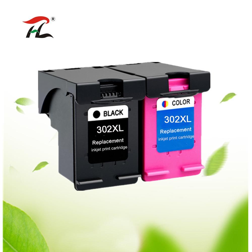 Kompatibel 302XL Tinta untuk HP 302 XL untuk HP 302 untuk HP Deskjet 2130 2135 1110 3630 3632 Officejet 3830 3834 4650