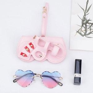 Image 5 - PU Leather Eyewear Case 2019 New Fashion Glasses Case Cartoon Women Portable Sun Eye Glasses Box Sunglasses Cute Protection Bags